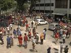 Integrantes do MST acampam na sede do Incra em Salvador