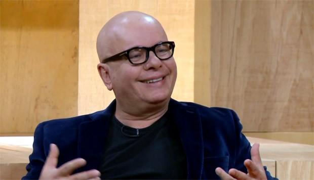 Marcelo Tas no Saia Justa (Foto: Reproduo/TV)