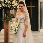 Marque as opções e monte o look completo de noiva (Salve Jorge/TV Globo)