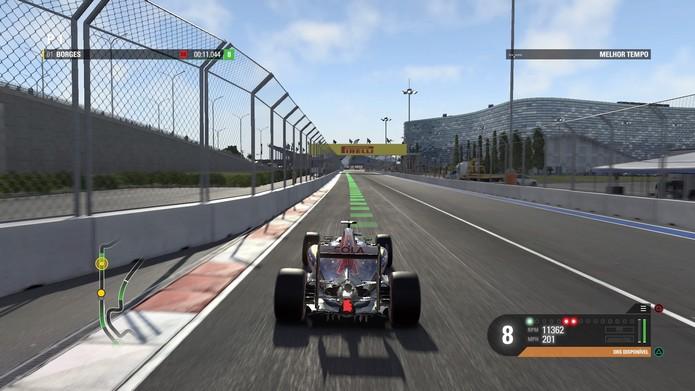 F1 2016 (Foto: Reprodução / TechTudo)
