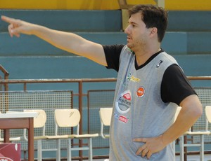 Flávio Prado técnico do Venceslau (Foto: Valmir Custódio / GloboEsporte.com)