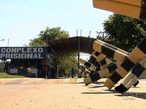 Serial Killer continua isolado no Núcleo de Custódia do Complexo Prisional de Aparecida de Goiânia, em Goiás (Foto: Reprodução/TV Anhanguera)