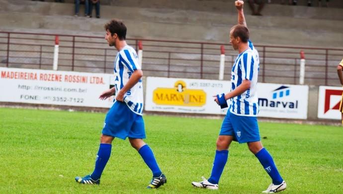 Marquinhos Avaí x Atlético-IB (Foto: Orlando Pereira/CAHA)