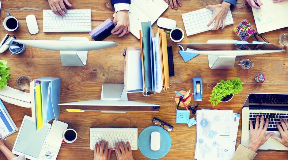 produtividade, reuniao, mesa, gestao, empreendedor, administracao (Foto: ThinkStock)