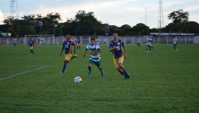 Ariquemes vence amistoso contra a equipe de Jaru (Foto: Franciele do Vale)