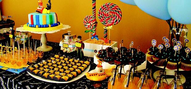 Tema para festa de aniversário_Beatles2 (Foto: Arquivo pessoal)