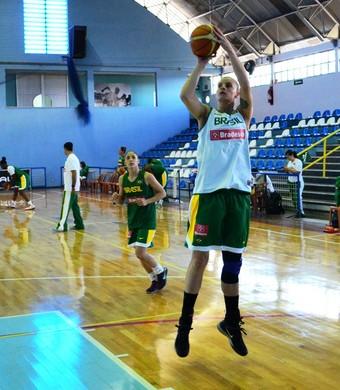 Nádio Colhado seleção brasileira de basquete (Foto: Danilo Sardinha/GloboEsporte.com)