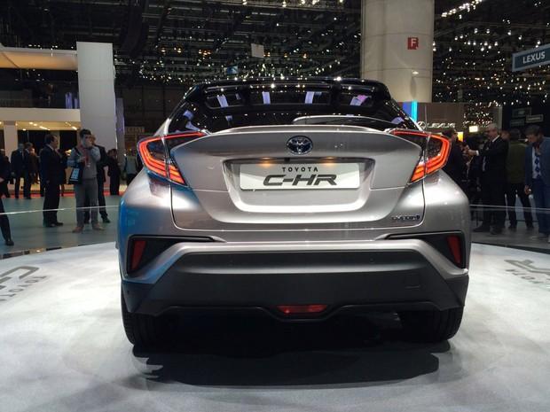 Toyota C-HR (Foto: Divulgação)