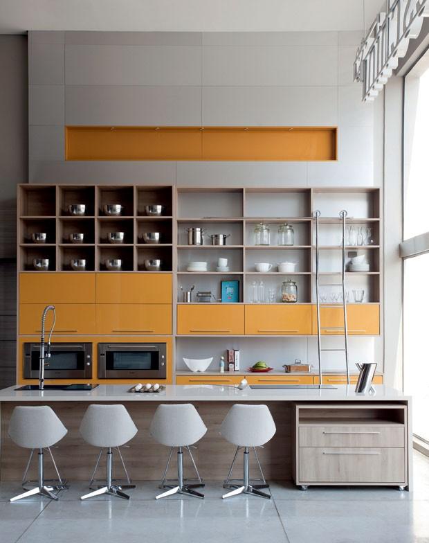 Especial cozinhas planejadas e belas  Casa Vogue  Ambientes -> Banheiros Planejados Sca
