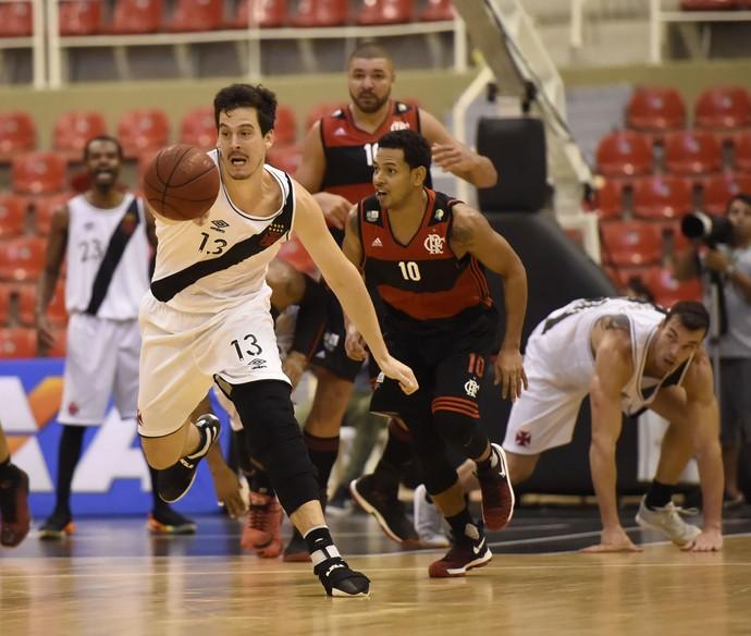 Vasco x Flamengo NBB Arena da Barra (Foto: André Durão)