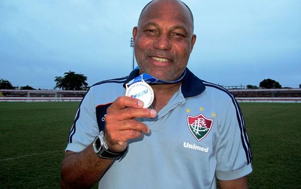 Edevaldo Freitas, auxiliar técnico do Fluminense Sub-20 (Foto: Vicente Seda)