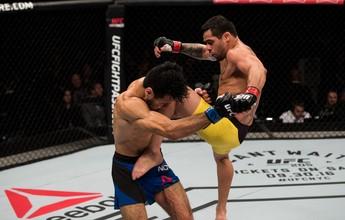 Barão não dá show, mas se recupera e vence Phillipe Nover no UFC Brasília