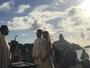 Fernanda de Freitas se casa com arquiteto em Fernando de Noronha