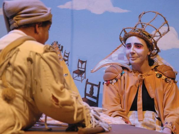 Peça 'Alice Através do Espelho', do Grupo Armazém (Foto: Divulgação Rede Globo)