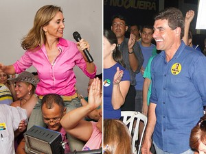 Os candidatos Dárcy Vera e Duarte Nogueira disputarão segundo turno em Ribeirão Preto (Foto: Arte EPTV)