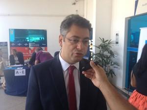Clécio Luís, prefeito de Macapá (Foto: John Pacheco/G1)