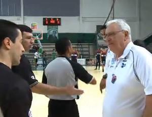 Franca, Palmeiras, NBB, arbitragem (Foto: Reprodução/NBB)