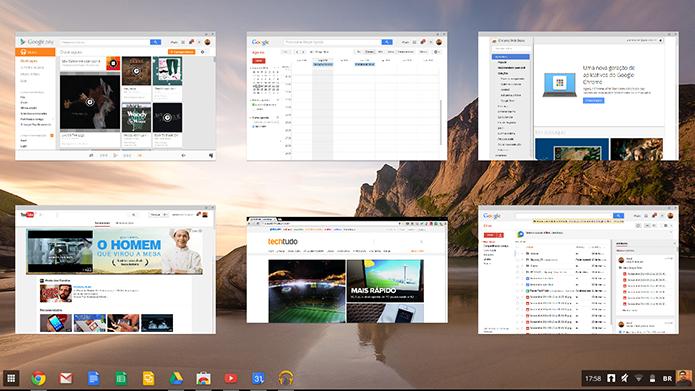 Chrome OS garante desempenho fluido e boot em 5 segundos (Foto: Paulo Alves/TechTudo)