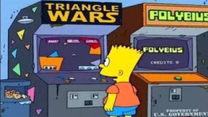O game já foi até piada em episódio de Os Simpsons (Foto: Reprodução/YouTube)