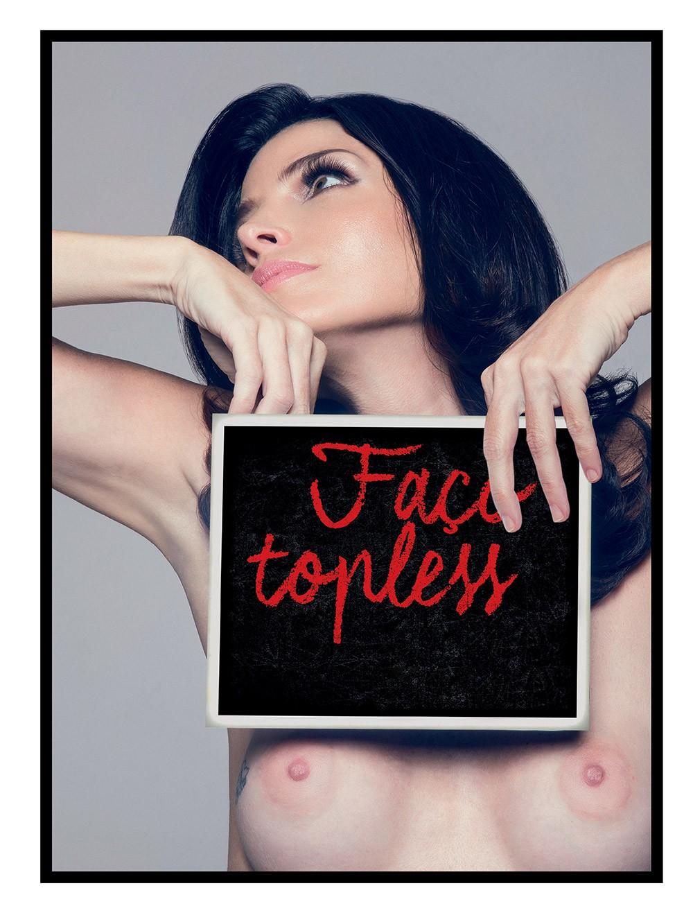 Ana Paula Nogueria #toplessinrio