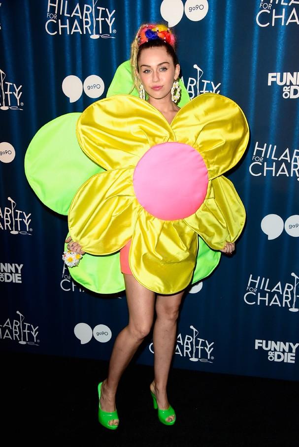 Miley Cyrus na abertura da sua turnê 'Miley Cyrus and Her Dead Petz'  (Foto: Getty Images)
