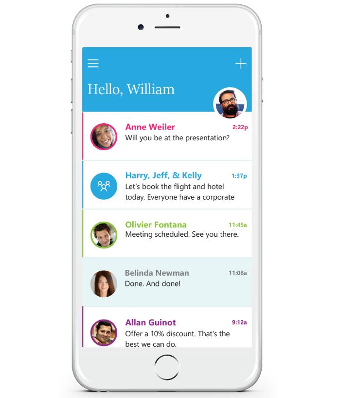 Microsoft anunciou novo app de e-mail nesta quarta (Foto: Divulgação/Microsoft)