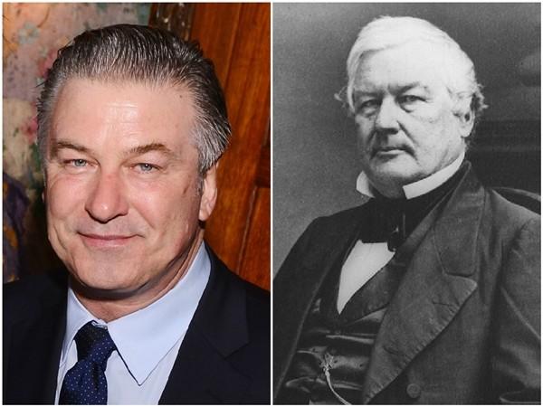 Alec Baldwin e o Presidente Millard Fillmore  (Foto: Getty Images/Divulgação)