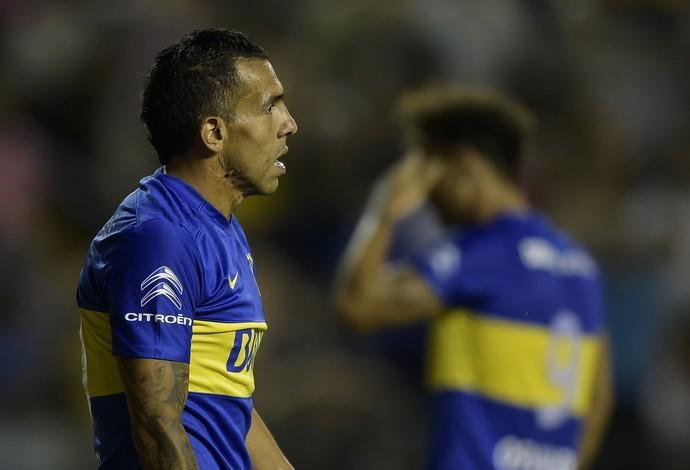Tévez, Boca Juniors x Atlético Tucumán (Foto: AFP)