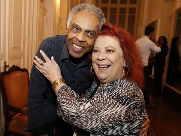 Prêmio da Música Brasileira - Gil e Beth Carvalho (Foto: AG.News)