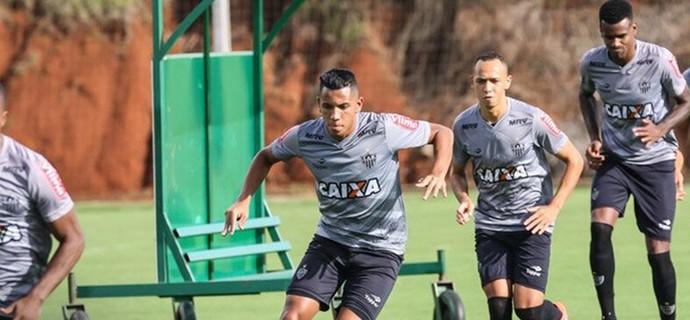 Treino do Atlético-MG em Chapecó (Foto: Bruno Cantini / Atlético-MG)