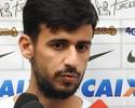 """Camacho vibra com gol, mas lamenta """"gosto de derrota"""" no Corinthians"""