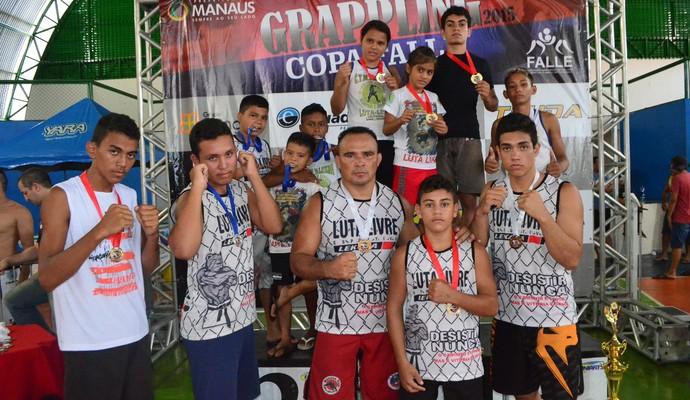 Copa Falle de Grappling consagrou equipe paraense (Foto: Divulgação/Emanuel Mendes)