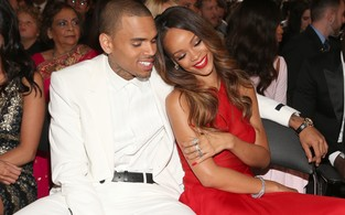 Rihanna e Chris Brown (Foto: Christopher Polk/Getty Images)