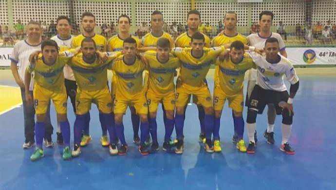 Constelação, Taça Brasil de Futsal 1ª Divisão (Foto: Arquivo Pessoal)
