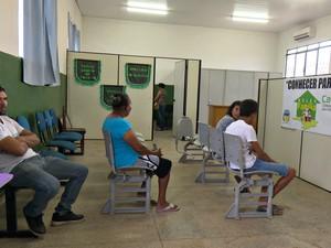 Em cada dia da semana o ponto vai funcionar numa localidade, das 14h às 17h (Foto: Rede Amazônica/Reprodução)