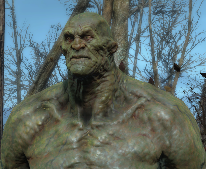 Strong: companion de Fallout 4 (Foto: Reprodução/Fallout 4 Base)
