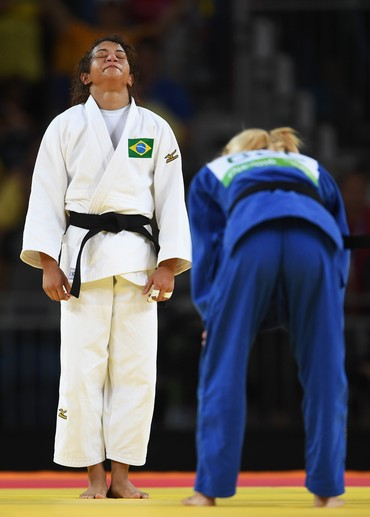 Sarah Menezes, judô Brasil, Olimpíada (Foto: Laurence Griffiths/Getty Images)