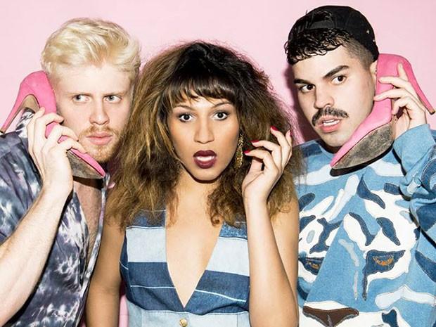 O trio lançou o primeiro CD em 2012 (Foto: Divulgação)