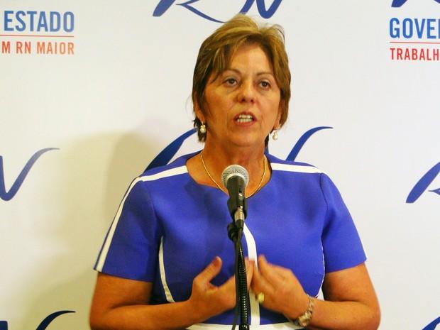 """Rosalba Ciarlini: """"Sei que a gente tem muito a melhorar"""" (Foto: Ricardo Araújo/G1)"""