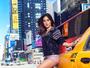 Thaila Ayala sensualiza em Nova York: 'Para tudo que eu cheguei'