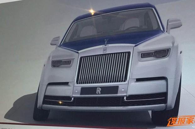 Rolls-Royce Phantom pode ter vazado antes do lançamento oficial (Foto:  Reprodução / Worldscoop)