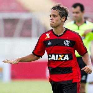 Douglas Baggio comemora gol pelo Flamengo (Foto: Divulgação/Flamengo)