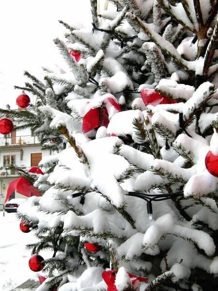 Janine passou o Natal de 2010 na Itália (Foto: Janine Limas/Arquivo pessoal)