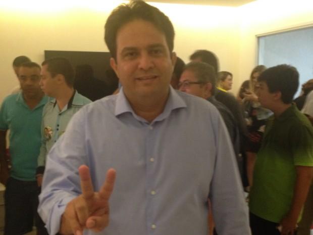 Roberto do Órion, prefeito eleito pelo PTB em Anápolis, em Goiás (Foto: Vitor Santana/G1)