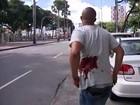 Baleado em discussão é amigo de suspeito (Imagens/ Tv Bahia)
