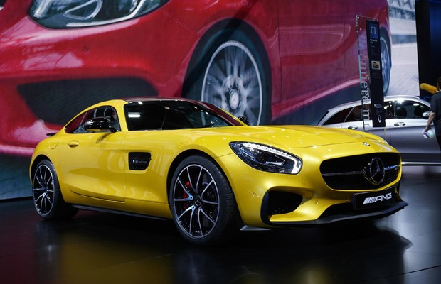 Mercedes-Benz AMG GT (Foto: Newspress)