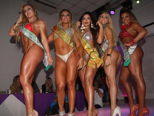 Vencedoras Miss Bumbum (Foto: Iwi Onodera / EGO)