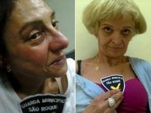 Idosas foram detidas em flagrante em São Roque (Foto: Divulgação/Guarda Civil Municipal)