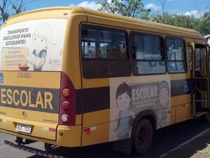 Veículos devem ser usados exclusivamente para transporte de alunos (Foto: CBN Tocantins)