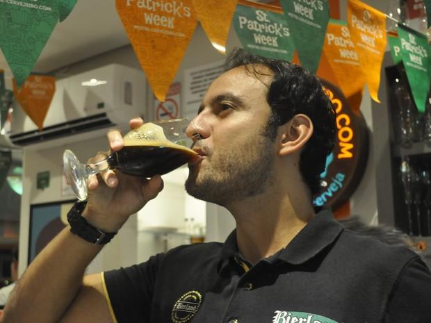 Flávio Domingues é de Poços de Caldas (MG) e ganhou evento em Blumenau (Foto: Lúcia Ribeiro/G1)